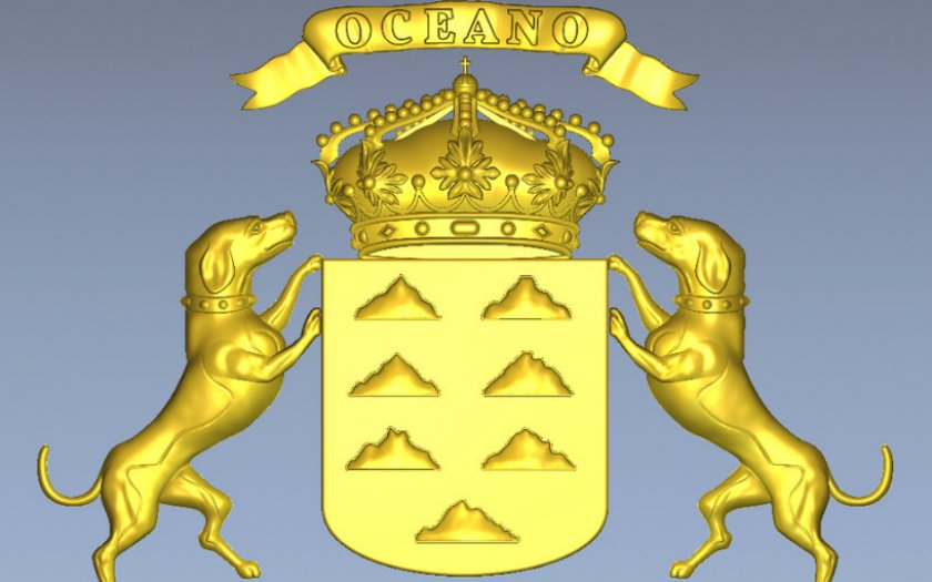 Герб Канарских островов