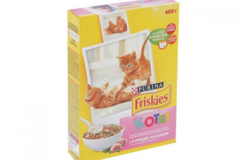 Сухой корм для котят «Friskies Junior»
