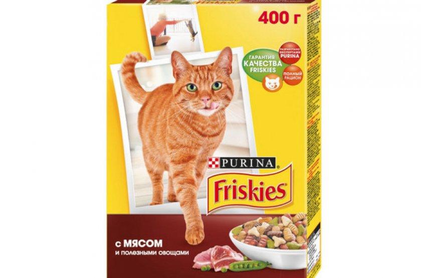 Сухой рацион «Friskies Adult» для взрослых котов