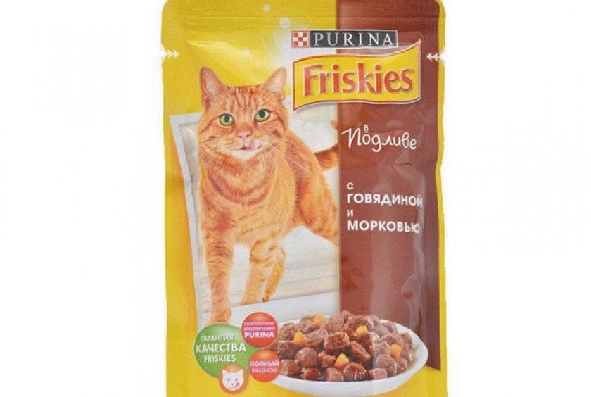 Влажный корм «Friskies Adult»
