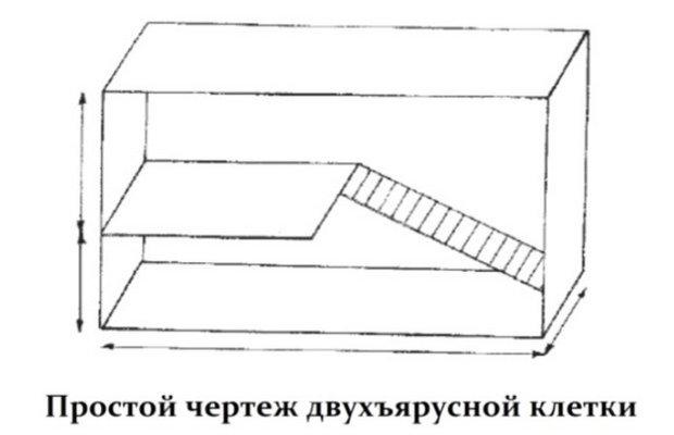 Построить клетку для кроликов своими руками чертежи 17