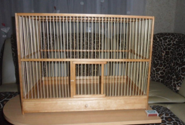 Как сделать деревянные клетки 713