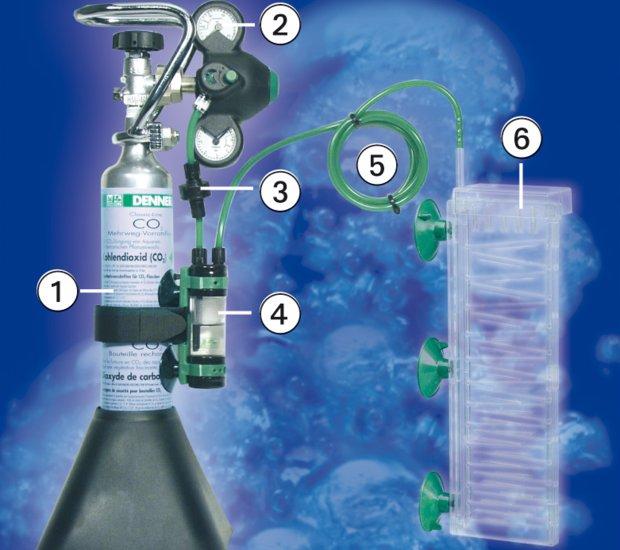 Как сделать систему подачи co2 в аквариуме