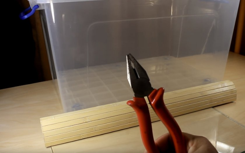 Инструменты и материалы для изготовления клетки