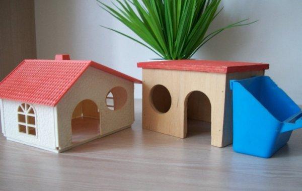 Как сделать домик хомякам своими руками 597