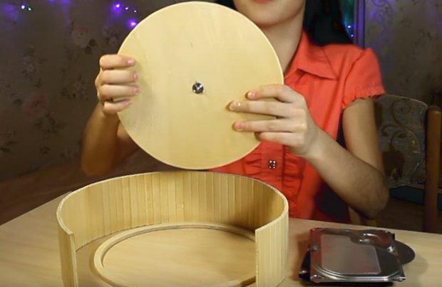 Изготовление колеса для хомяка
