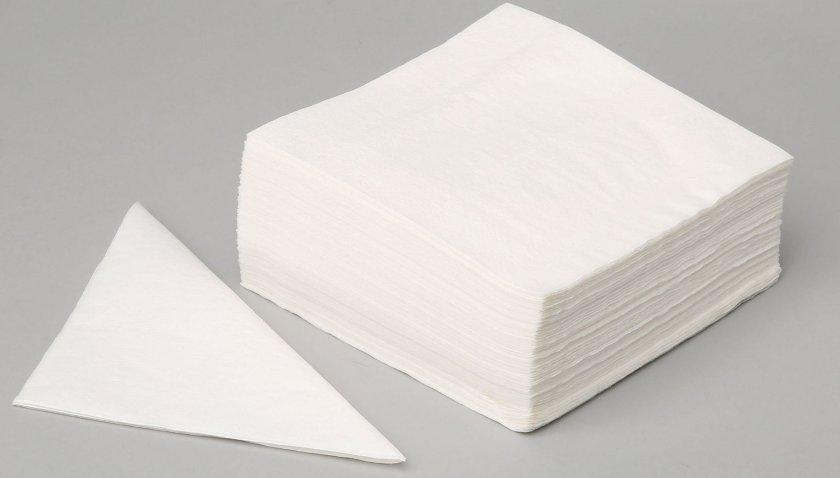 Бумажные салфетки в качестве подстилки для хомяка