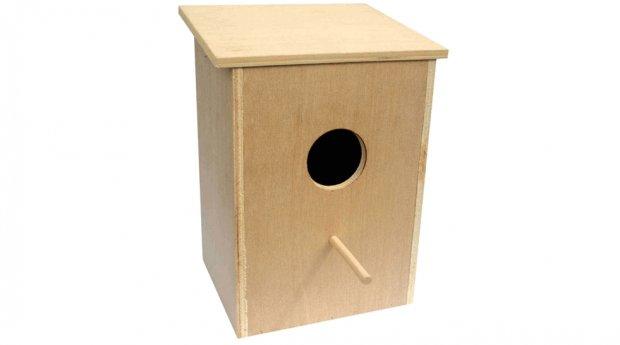 Вертикальный домик для попугая