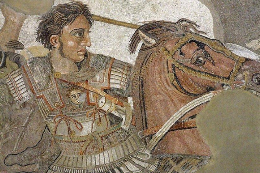 Александр Македонский на коне
