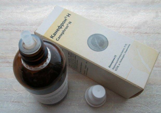 Препарат Канефрон в водно-спиртовом экстракте