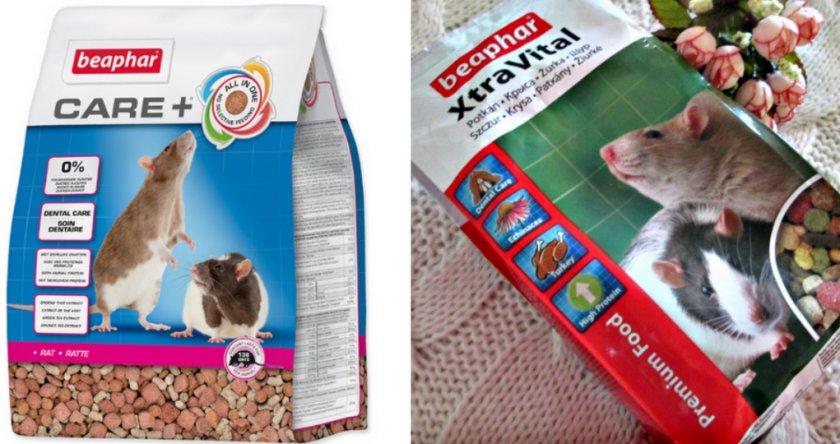 Корм суперпремиум-класса для крыс