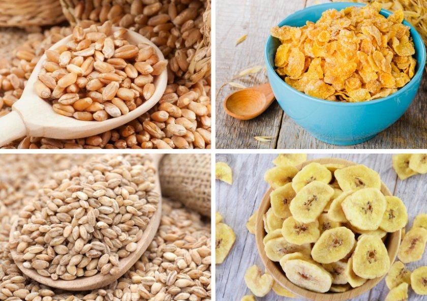 Ингредиенты для приготовления корма для крыс