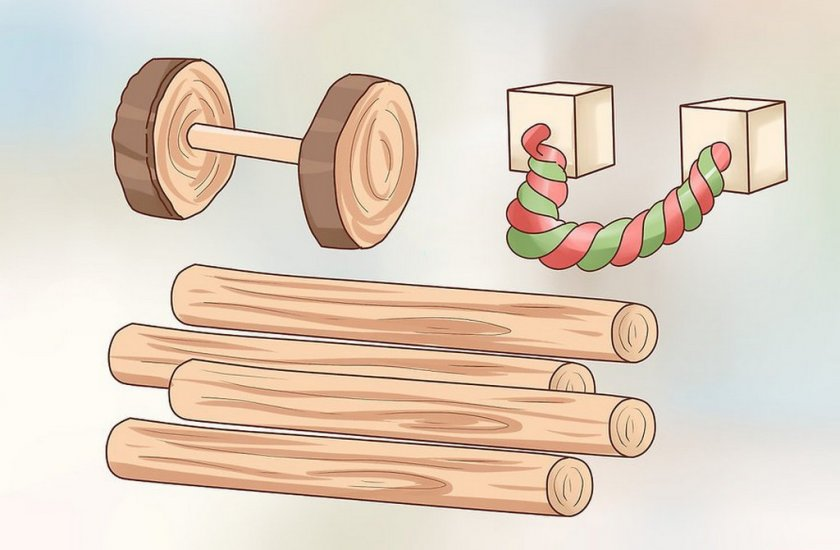 Игрушки для хомяка