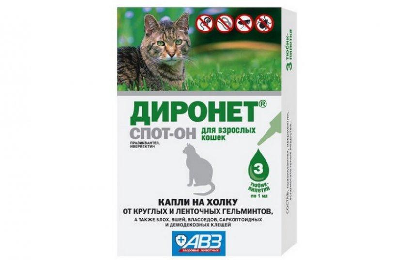 Капли Диронет Спот-он