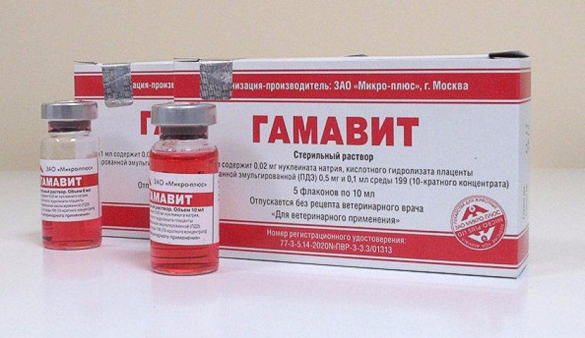Препарат Гамавит
