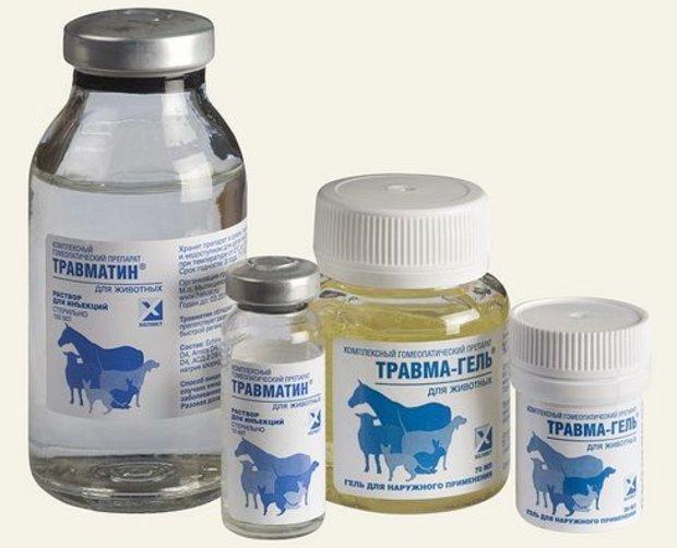 Инструкция по применению Травматина для кошек