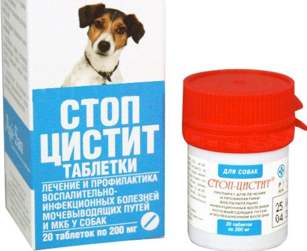 Стоп-цистит для кошек и собак — инструкция по применению
