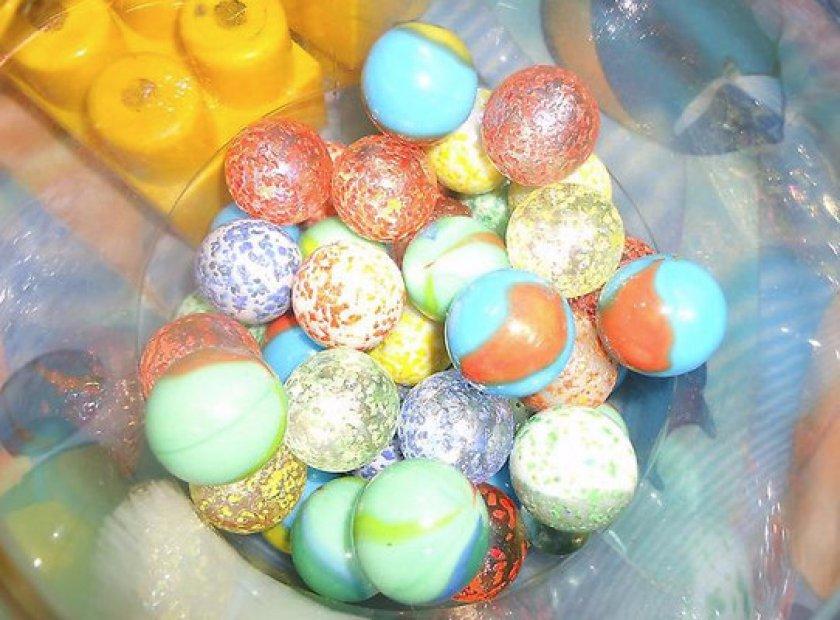 Стеклянные шарики