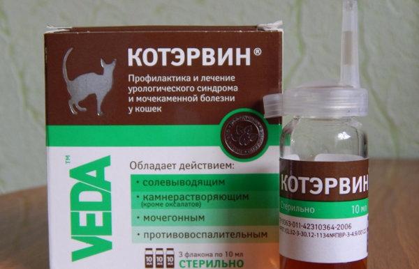Капли Котэрвин: инструкция по применению препарата