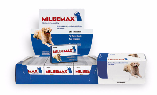 Как давать «Мильбемакс» собаке