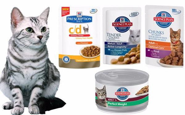 Корма Хиллс для кошек для профилактики зубного камня Состав корма Хиллс для кошек