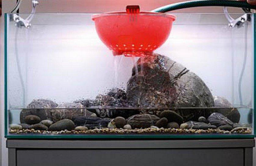 Заполнение аквариума
